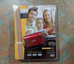 Red Vivitar DVR 528 Camcorder BRAND NEW!!! FREE SHIPPING!!!