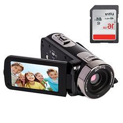 YSANY Remote Control IR Night Vision Handy Camera Camcorders