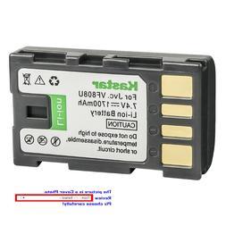 Kastar Replacement Battery for JVC BN-VF808 BN-VF808U & JVC