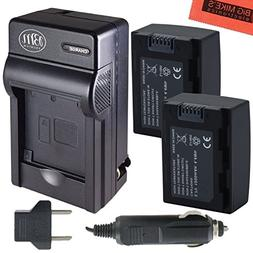 2-Pack of Replacement IA-BP105R Batteries and Battery Charge