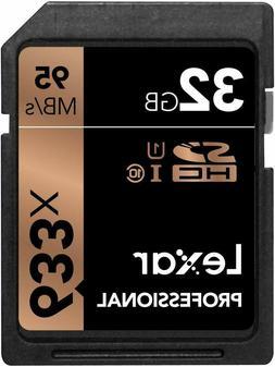 Professional 633x 32GB SDHC UHS-I Card w/Image Rescue 5 Soft