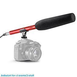 Neewer Pro Shotgun Condenser Microphone for Canon Nikon Sony