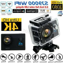 SJ9000 1080P 4K HD Ultra Sport Action Camera DVR WiFi Waterp
