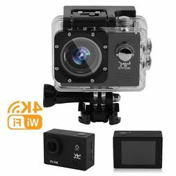 Wifi 1080P 4K Ultra HD Sports Action Camera DVR Camcorder Wa