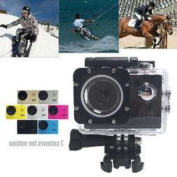 "A7 720P Ultra HD Sport Action Camera DVR DV Camcorder 2.0"" L"