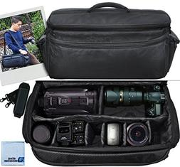 Extra Large Soft Padded Camcorder Equipment Bag/Case For Pan