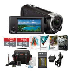 Sony 1080p Full HD 60p Handycam Camcorder with Focus Accesso