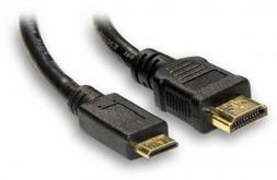 JVC GC-XA1 ADIXXION Camcorder AV / HDMI Cable 6' HDMI to Min