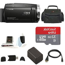 Sony HDR-CX675 Handycam Full HD 1080p Camcorder w/ Lithium I