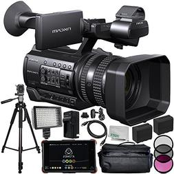 Sony HXR-NX100 HD NXCAM Camcorder with Atomos Ninja Flame 7""