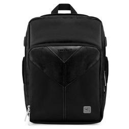 VanGoddy Sparta Onyx Black Camera Backpack for Canon Profess