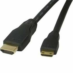 3ft High Speed 4K Mini HDMI Type-C to HDMI Cable Sony Cannon