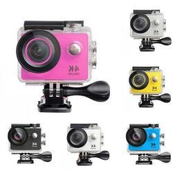 US HD 4K DV Water Sports Camera Ultra Waterproof Action Camc