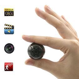 Spy Hidden Camera, Moosoo 1080P/720P HD 6 LED Infrared Night