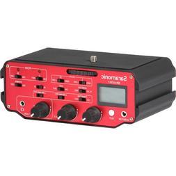 Saramonic SR-AX107 2 Channel Transformer XLR Audio Adapter w