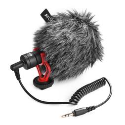 Stereo Recording Cardioid Microphone for Smart Phone DSLR Ca