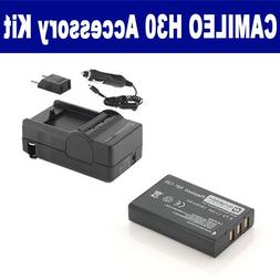 Toshiba Camileo H30 Camcorder Accessory Kit includes: SDNP12