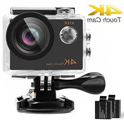 ATER 4K Touch Action Camera WIFI Ultra HD 16MP 30m Underwate