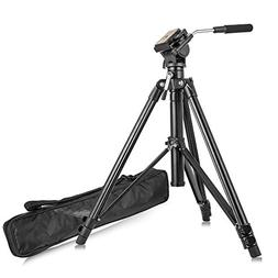 Video Tripod, ZOMEi VT-2000 Professional Aluminum Camera Vid