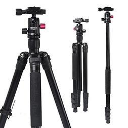 "Camera Tripod, ZoMei 62.5"" Lightweight Aluminum Alloy Mono"