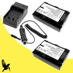 Two Halcyon 1300 mAH Lithium Ion Replacement Battery and Cha