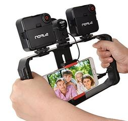 SUPON U Rig Pro Smartphone Video Rig, Phone Movies Mount Ha