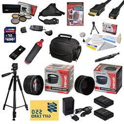 47th Street Photo Ultimate Accessory Kit for the Nikon D3100
