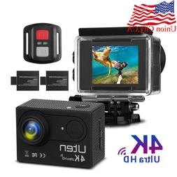 Ultra 4K Full HD 1080P Sport Camera DVR DV WiFi Action Camco