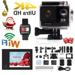 Ultra 4K Full HD 1080P Waterproof Sport Camera WiFi Action C
