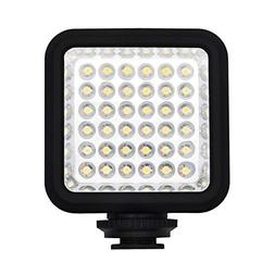SEREE Ultra-Bright LED 36 Video Light Continuous on Camera L