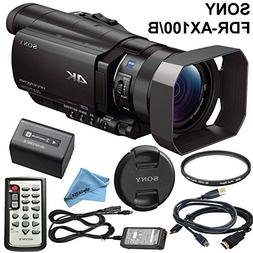 Professional Ultra HD 4K Camcorder - Sony FDR AX100 Camcorde