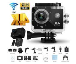 Ultra HD 16MP WIFI 4K Sport DV Action Cam Helmet Camera wifi