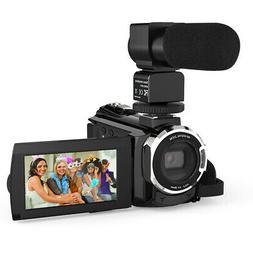 Andoer Ultra HD WiFi 4K 1080P 48MP Digital Video Camera Camc