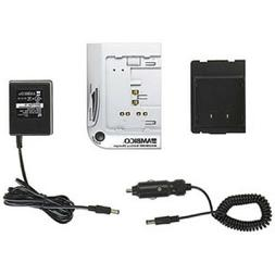UNIVERSAL CAMCORDER Charger with Auto Adapter NiCd,NiMH - Am