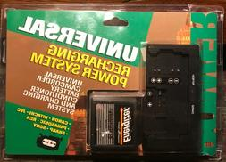 Universal CAMCORDER Battery Charger System Canon, Hitachi, J