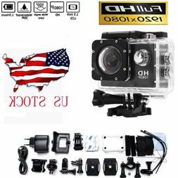 Universal HD 1080P Sports DV Action Waterproof Bike Camera U