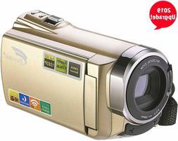 Hausbell Upgraded Camcorder 8 Mega Pixels CMOS  HDV-5052 IR