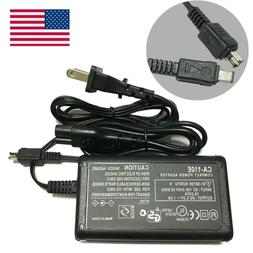 US Adapter Battery Power Supply Charger Cord For Canon VIXIA