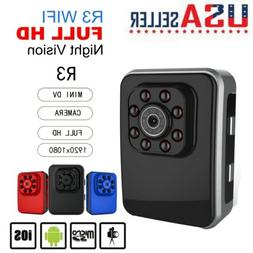 US FHD 1080P Wifi Car DV DVR Camera Spy Hidden Sport Camcord