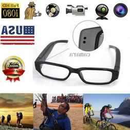 US Mini HD 1080P/720P Spy Camera Glasses Hidden Eyewear DVR