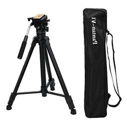 Pantan V1 Portable DV Video Camera Tripod with Fluid Drag He