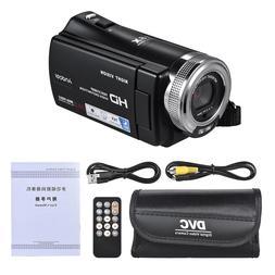 V12 <font><b>1080P</b></font> Video Camera Full HD 16X Digit