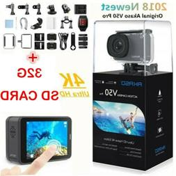 AKASO V50 Pro Action Camera Native 4K/30fps 20MP WiFi LCD To