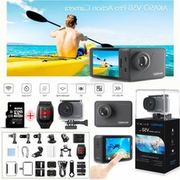 AKASO V50 Pro Native 4K/30fps 20MP WiFi Action Camera LCD To