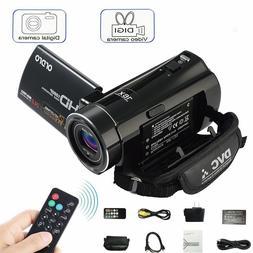 "V7 HD 1080P 16X ZOOM 24MP 3.0"" LCD Digital Video Camera DV C"