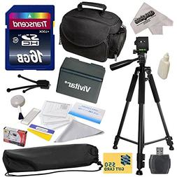 Best Value Accessory Kit for Canon VIXIA HF R52 HFR52, HF R5