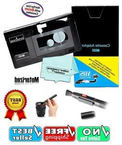 VHS C Cassette Adapter For JVC Panasonic Camcorder Video Mot