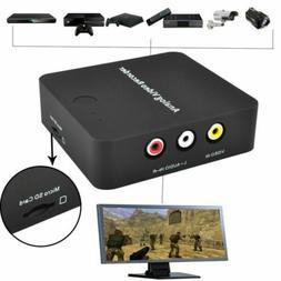 VHS To Digital Converter Video File Recorder Adapter for Hi8