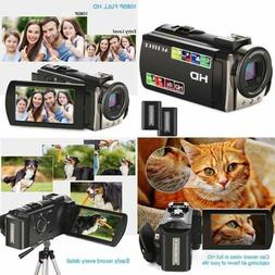 Video Camcorder ACTITOP FHD 1080P 24MP 16X Digital Zoom Came