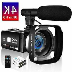 Video camera 4K digital video camera HDR 48MP Yes WIFI funct